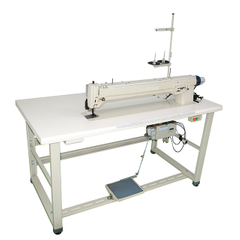 Long Arm Zigzag Label Machine